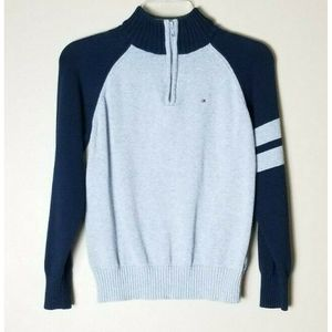 Tommy Hilfiger Pullover 1/2 Zip Knit Sweater
